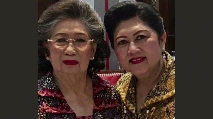 Sosok Sunarti Sri Hadiyah Ibu Mertua SBY, Istri Jendral Sarwo Edhie Wibowo, Masih Awet Muda