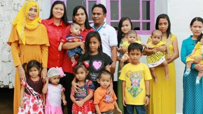 7 Pria di Indonesia yang Punya Istri Terbanyak, Ada yang 94 Orang hingga Punya 52 Anak dan 212 Cucu