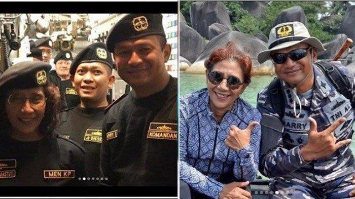 Kenangan Susi Pudjiastuti dan Kolonel Laut Harry Setyawan: Terima Kasih Luar Biasa dari Saya Pribadi
