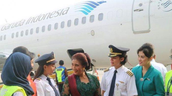 Susi Pudjiastuti Gantikan Ari Askhara Sebagai Dirut Garuda Indonesia? Diusulkan Sejumlah Pihak