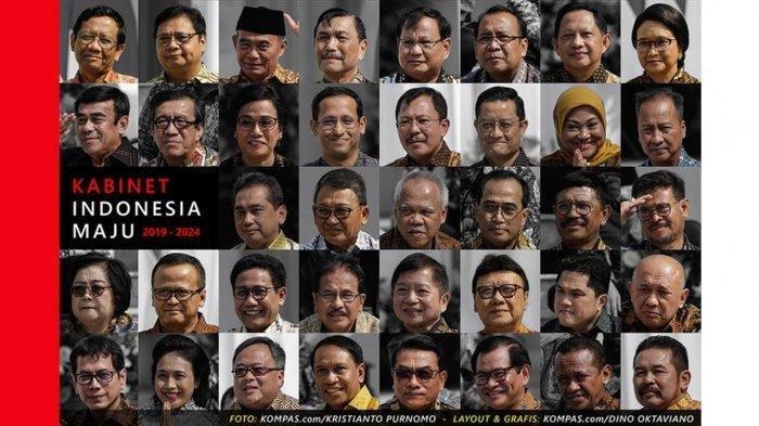 Reshuffle Kabinet Menguat, 4 Menteri Ini Disebut-sebut Bakal Dicopot Presiden Jokowi