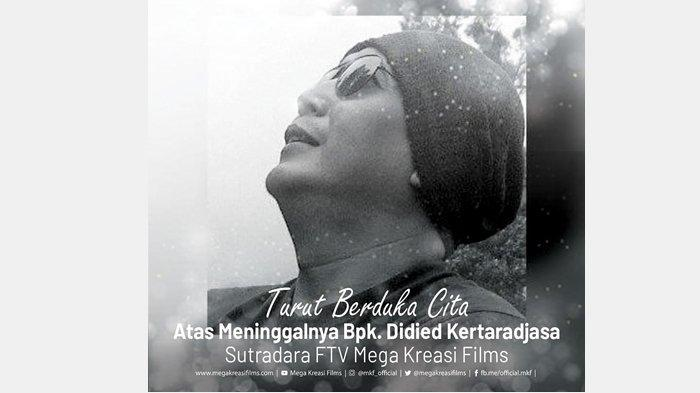 Aktor Lucky Alamsyah Bagikan Kabar Duka, Sutradara Didied Kertaradjasa Meninggal Dunia