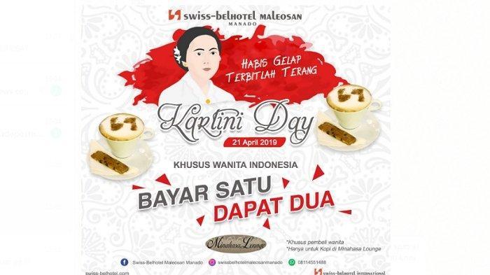 Menyambut Hari Kartini, Swiss-Belhotel Maleosan Manado Berikan Promo Bayar Satu Dapat Dua