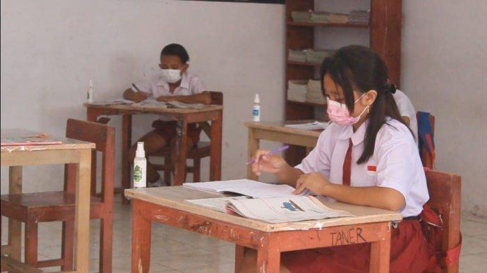 Belajar Tatap Muka Terbatas di Boltim, Siswa yang Belum Divaksin Boleh Ikut