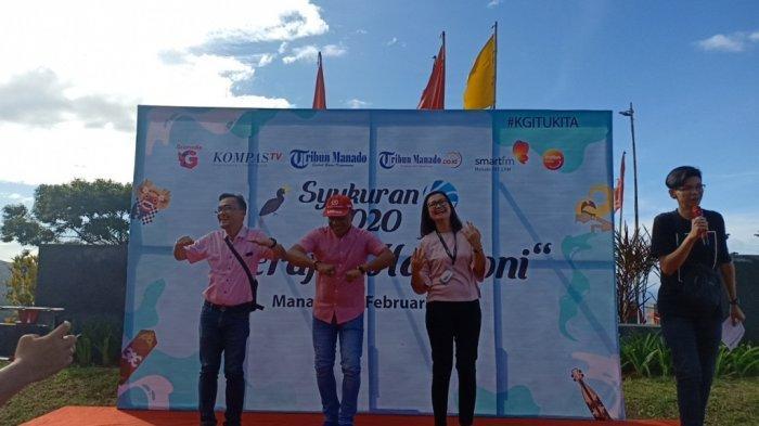 Beragam Pertunjukan Warnai Syukuran ke-50 Kompas Gramedia Group di Sulut