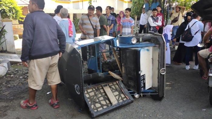 Tabrakan Beruntun di Mogolaing, Dua Korban Alami Luka-Luka, Satu Korban Dirujuk ke RS Kandouw