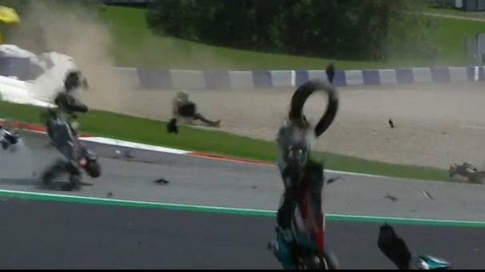 Kecelakaan 2 Pembalap, Johan Zarco & Franco Morbidelli, Begini Kata Valentino Rossi