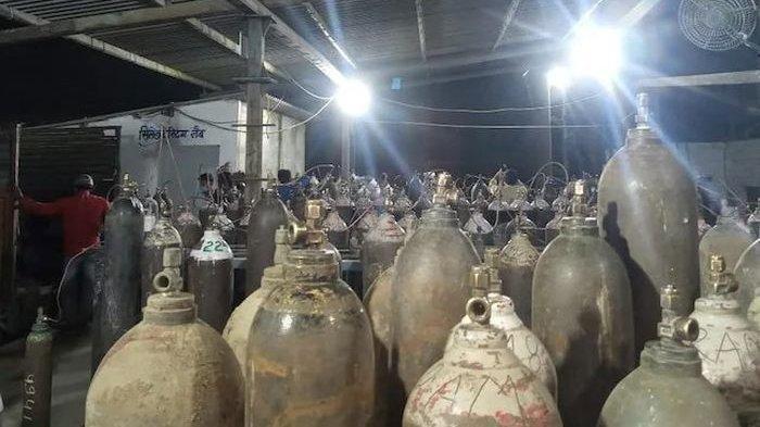 Krisis Oksigen di India, Pria Ini Jual Tabung Oksigen Hanya Rp 200, Kini Disebut Pahlawan Covid-19