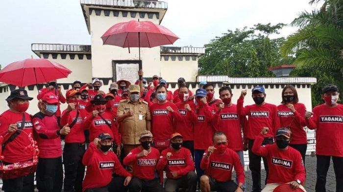 Dinas Sosial Daerah Provinsi Sulawesi Utara (Sulut) menggelar kegiatan Tagana Bakobong, Selasa (22/9/2020)