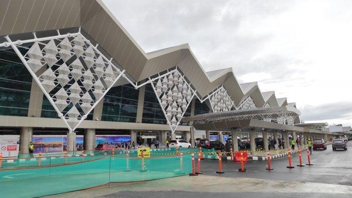 Melihat Tampilan Terminal Baru Bandara Internasional Sam Ratulangi Manado