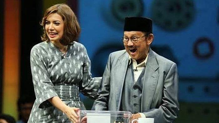BJ Habibie di Mata Seorang Najwa Shibab, Beliau Adalah Sumber Inspirasi yang Tak Pernah Putus
