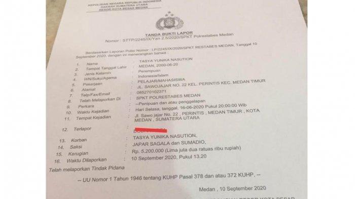 Member Larikan Uang Rp 8 Juta, Owner Malah Kena Tipu Mirip Kasus Arisan Online