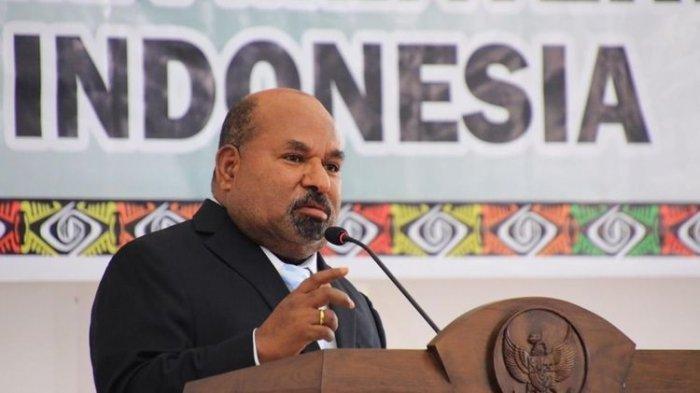 Gubernur Lukas Enembe Sikapi Pengesahan Otsus Papua, Singgung Konflik di Tanah Cendrawasih