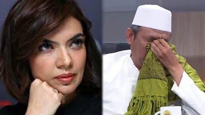 Dpp Fpi Nangis Saat Ditanyakan Oleh Najwa Shihab Minta Pemerintah Tak Dzolimi Habib Rizieq Shihab Tribun Manado