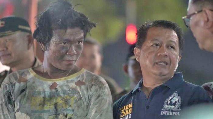 Artis Ibukota Ditangkap Sat Pol PP, Berpenampilan Seperti Gelandangan, Wajahnya Kotor Menghitam