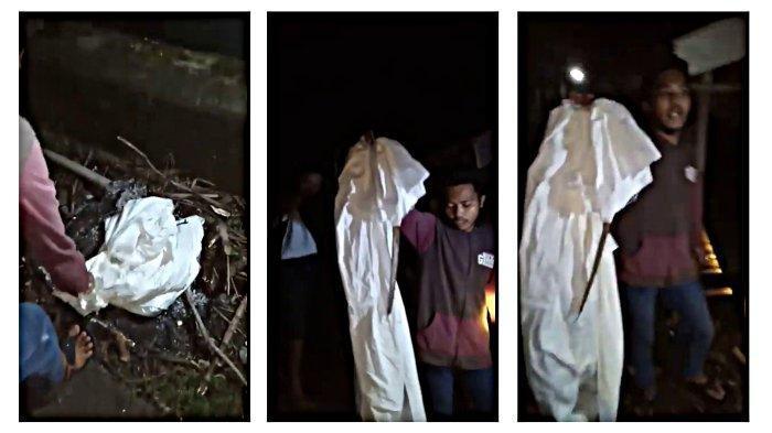 Penemuan Kain Putih di Pinggir Jalan Menuju Area Pemakaman, Terkait Teror di Purbalingga?