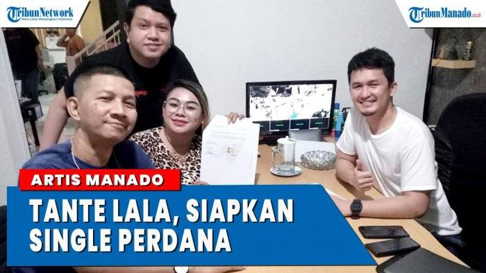 VIDEO Tante Lala Segera Luncurkan Single Perdana Usai Tanda Tangani Kontrak Dengan Label