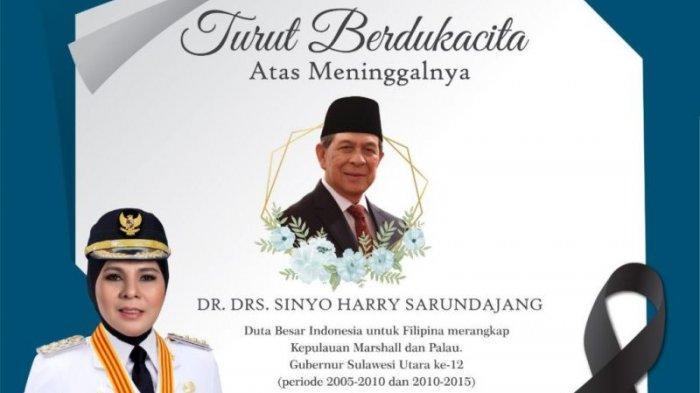 Tatong Bara ucapkan belasungkawa Sinyo Harry Sarundajang