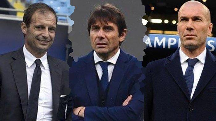 Teka-teki Siapa Pelatih Real Madrid, Inter Milan dan Juventus, Rumah Baru Conte hingga Nasib Zidane