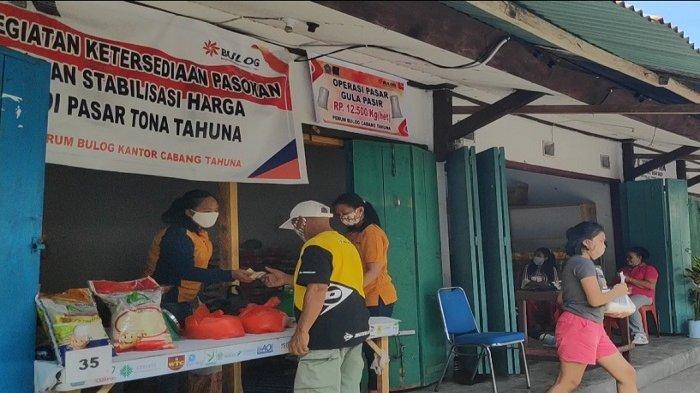 Bulog Tahuna Gelar Operasi Pasar, Tekan Harga Gula Pasir ...