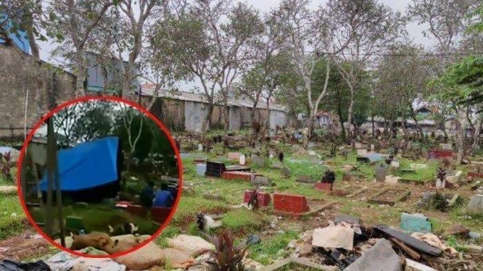Viral Tempat Pemakaman Jadi Lokasi Pesta Miras dan Dangdutan Gerombolan Orang, Penjaga Makam Pasrah