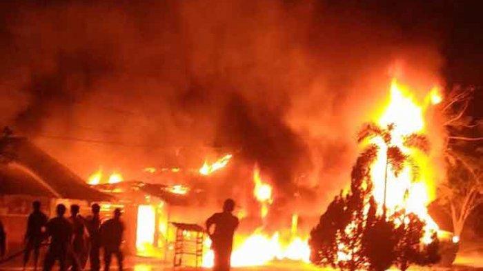Ibu dan Anak Tewas Terbakar, Muji Masuk Kembali ke Dalam Rumah dan Tak Kembali