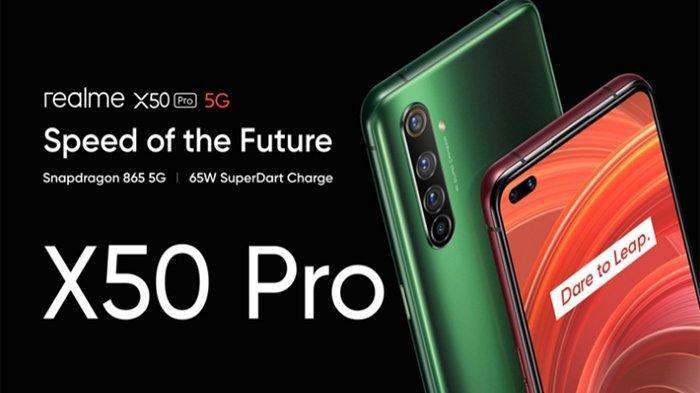 TERBARU - Harga Ponsel Realme Maret 2020, Seri Terbaru Realme X50 Pro dengan Fitur Kamera 20x Zoom