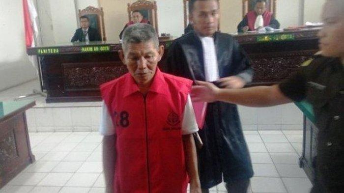 Dituduh Curi Getah Karet Seharga Rp 17 Ribu dari Perusahaan Swasta, Kakek Samirin Divonis Penjara