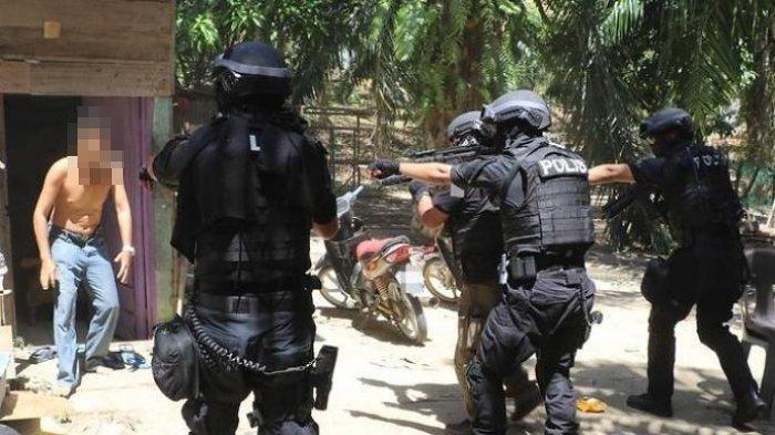 Terduga Teroris MT Mati Ditembak Densus 88 saat Hendak Ditangkap, Korban Menyerang Petugas