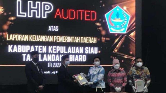 Pemkab Sitaro Raih Opini WTP ke-8 Kali Secara Berturut-turut