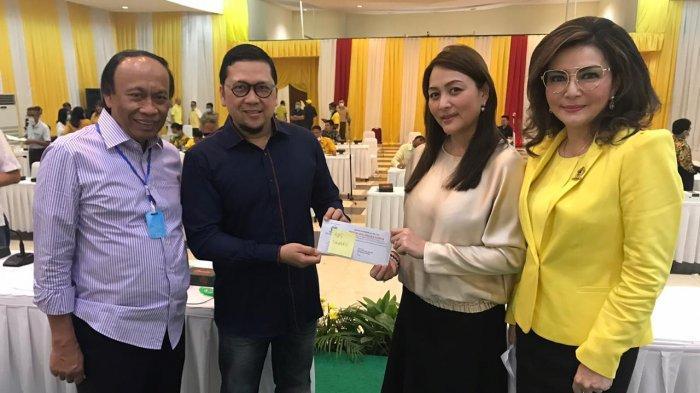 Terima SK Dari DPP Golkar, Michaela Paruntu: Kami Siap Menang