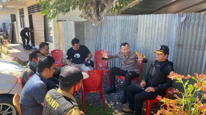 Petugas Kepolisian Redam Aksi Massa di Ratatotok, Kondisi Terkini Aman dan Terkendali