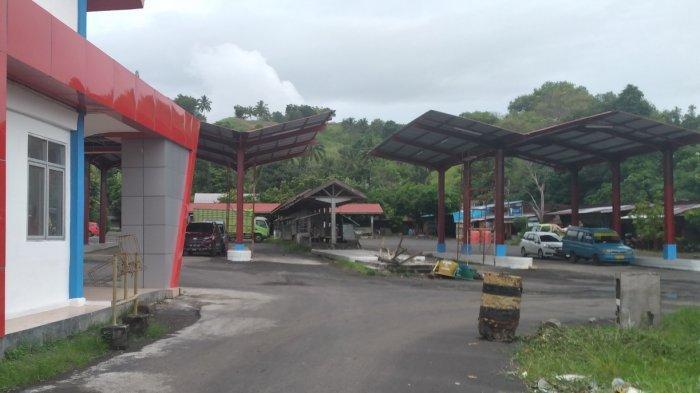 Terminal Bayangan Menjamur di Kabupaten Minahasa Selatan, Terminal Amurang Sepi