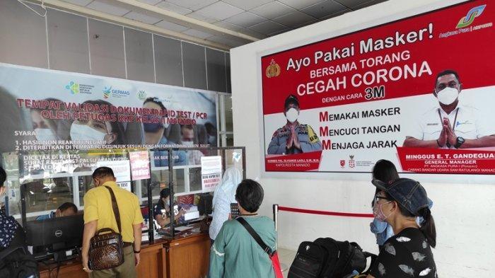 Bandara Samrat Mulai Perketat Syarat bagi Pelaku Perjalanan Jelang Larangan Mudik Lebaran