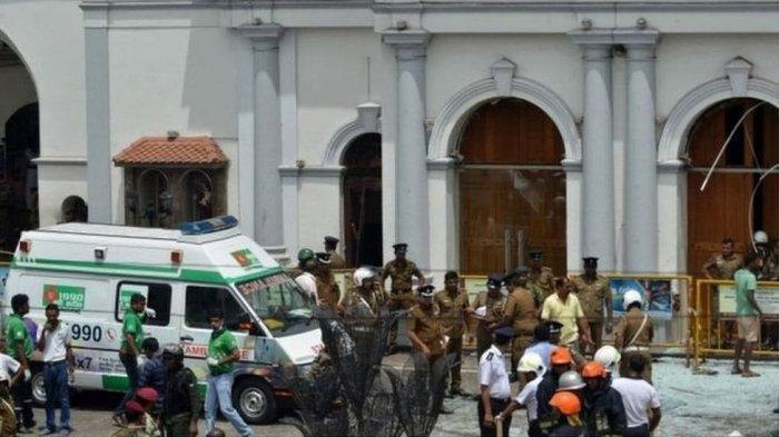 HEBOH - Teror Bom 3 Gereja di Sri Lanka saat Rayakan Paskah, Ratusan Korban Jiwa