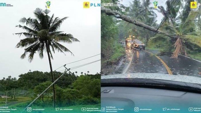 Cuaca Ekstrem, PLN Bereaksi Cepat Upayakan Penormalan Pasokan di Wilayah Kerja PLN UP3 Manado