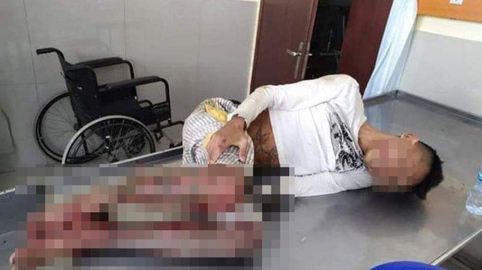 Tim Macan Polres Manado Amankan Pelaku Pembunuhan di Wonasa, Pelaku Ditembak di Kaki
