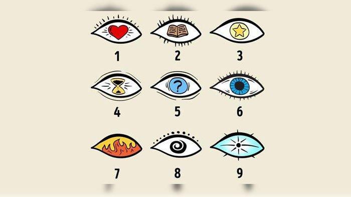 TES Kepribadian, Pilihlah Satu dari Sembilan Gambar Mata Yang Paling Menarik, Lihat Artinya