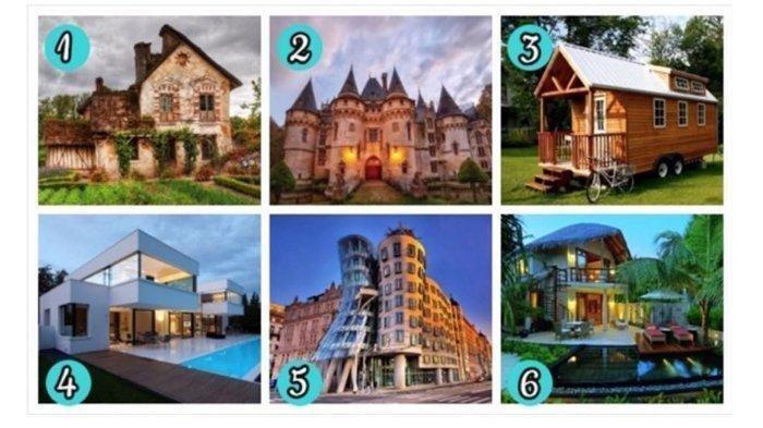 Ingin Tahu Karakter dan Sifatmu? Pilih Gambar Rumah yang Ingin Kamu Tinggali