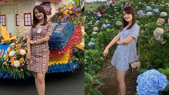 Wanita Cantik Tessy Patricia Pingkan Odih Ingatkan Pentingnya Protokol Kesehatan