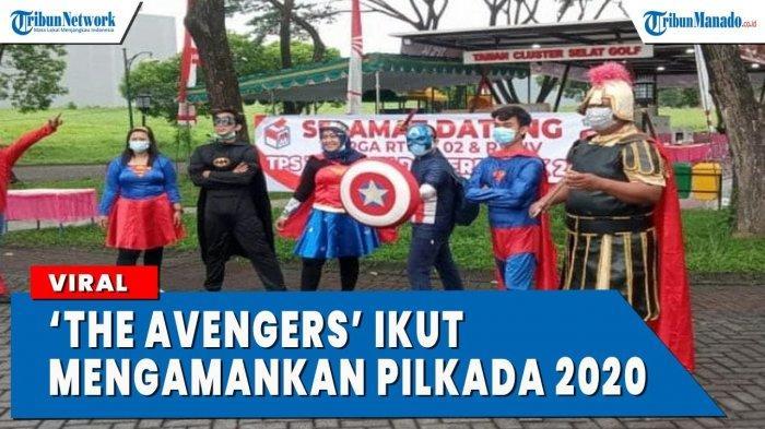 VIDEO 'The Avengers' Ikut Amankan Hari Pencoblosan