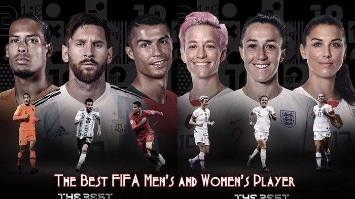 Hasil Lengkap Pemenang Penghargaan The Best FIFA 2019