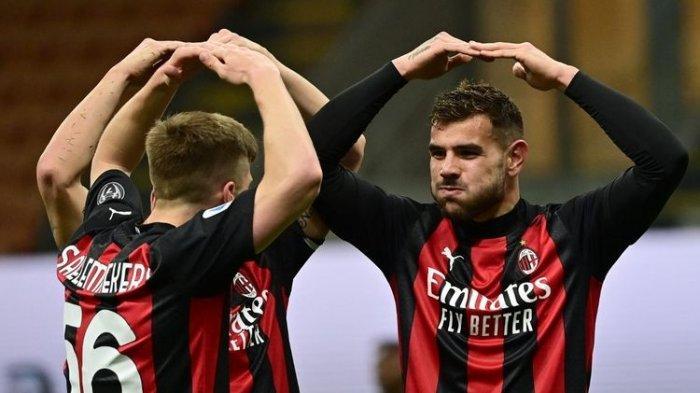 Hasil Liga Italia AC Milan vs Benevento, Rossoneri Tekuk Tim Tamu 2-0, Asa Kembali ke Liga Champions