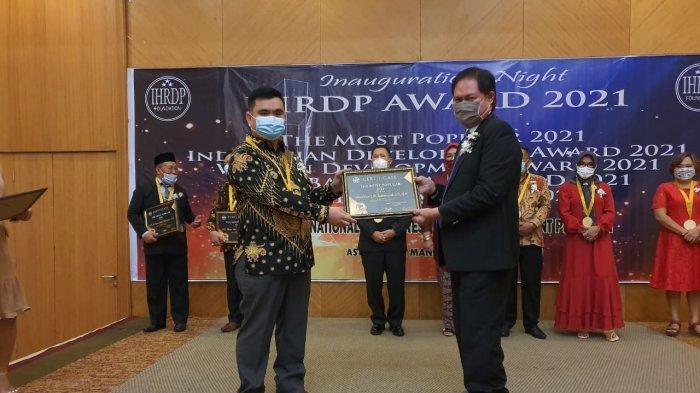 Theodorus Rumampuk Terima Penghargaan IHRDP Tahun 2021: Ini Sebuah Kebanggaan