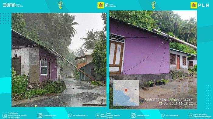 Gerak Cepat, PLN Amankan Listrik saat Cuaca Buruk di Sitaro