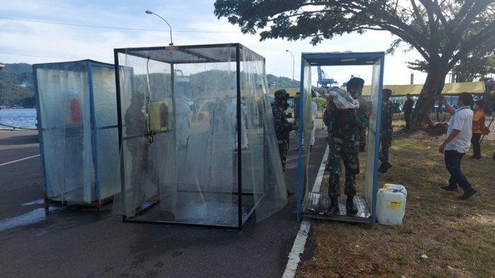 272 Personel Yonif Raider 712/Wiratama Tiba di Bitung, Lakukan Protokol Kesehatan