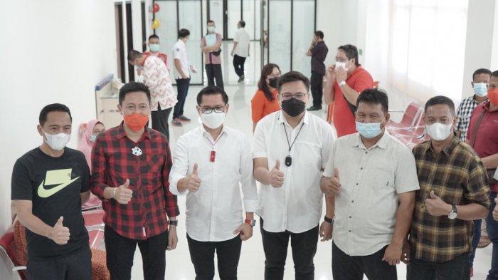 Tiba di Manado, Iskandar Kamaru dan Deddy Abdul Hamid Langsung Jalani Tes PCR