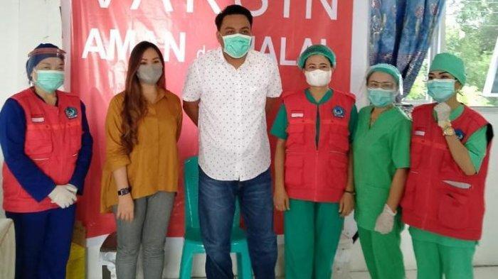 Tiga Wakil Rakyat di Bitung Jalani Vaksinasi Covid-19 Dosis Kedua