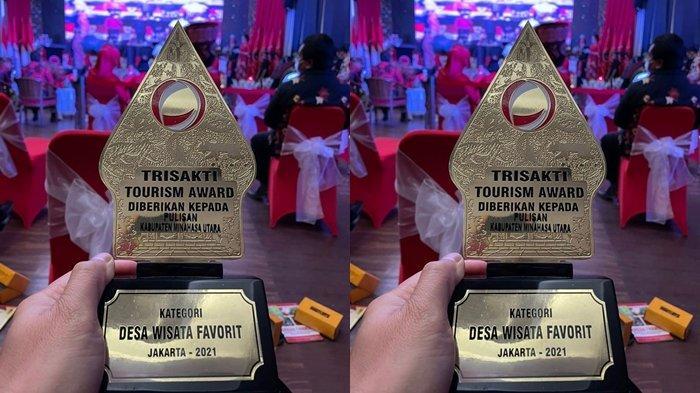 Tiga Desa Minut Berjaya di Trisaksi Tourism Award