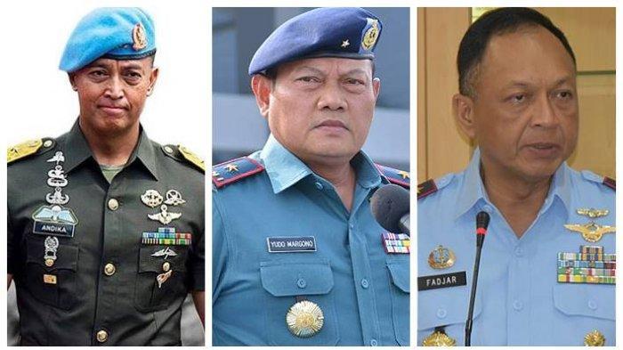 Berpeluang jadi Panglima TNI Berikut Ini Harta Kekayaan Tiga Kepala Staf TNI, KSAD Belum Melapor